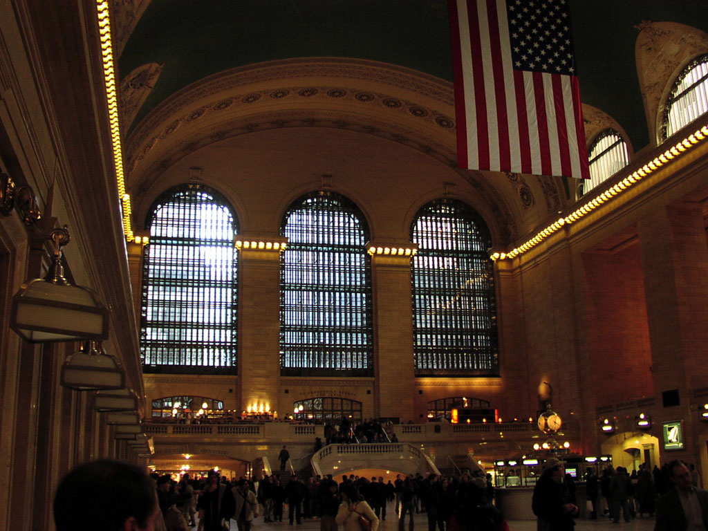 Grand Central Terminal, view of interior