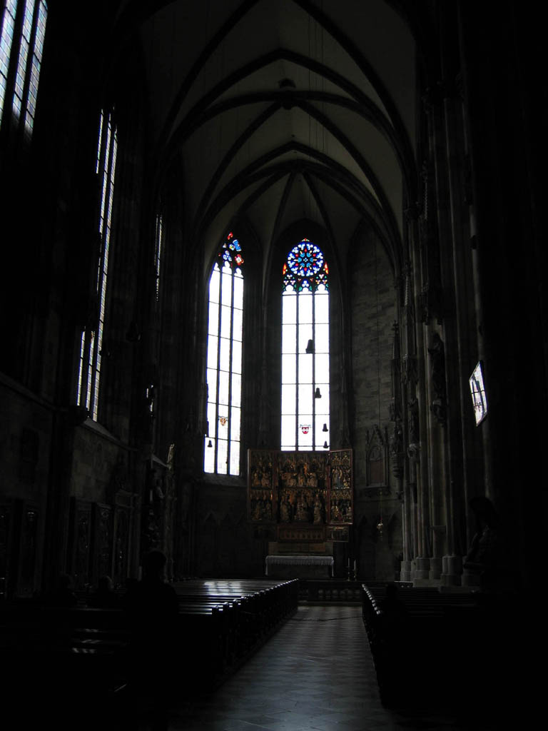Stephansdom - Wiener Neustädter Altar at the head of South Nave