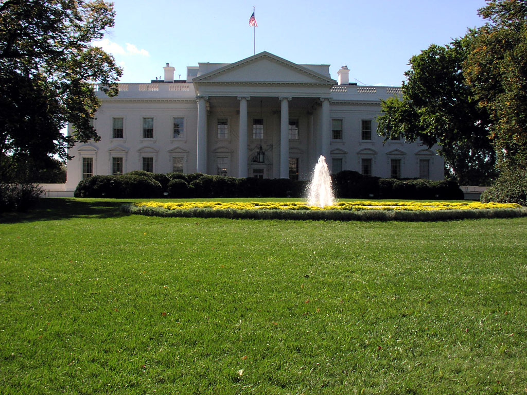 The White House - View from front lawn